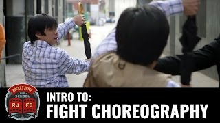 Intro to Fight Choreography (with Yung Lee)