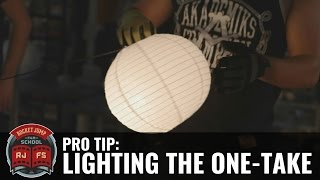 Pro Tip: Lighting the One-Take