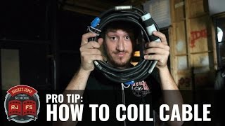 Pro Tip: How to Coil Cable