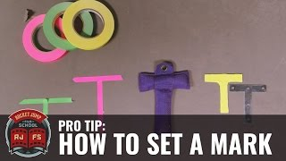 Pro Tip: How to Set a Mark