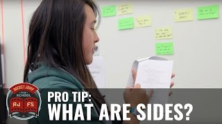 PRO TIP: What Are Sides?