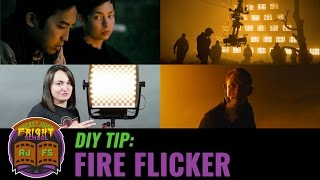 DIY Tip: Fire Flicker Effect