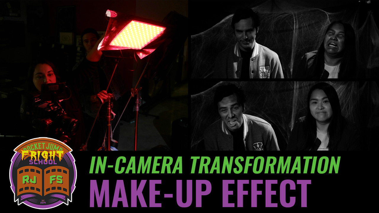 In-Camera Transformation Effect